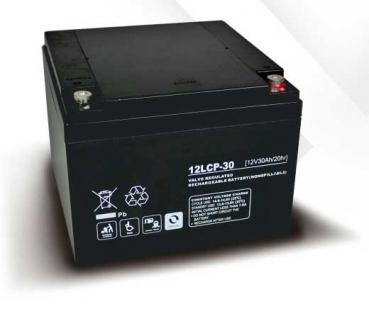 Akku kompatibel ST240B 12V 30Ah wie 26Ah AGM Blei wiederaufladbar wartungsfrei