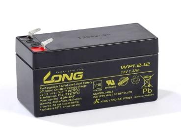 Akku kompatibel ST12 12V 1,2Ah wie 1,3Ah AGM Blei wiederaufladbar wartungsfrei